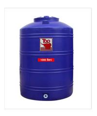 นิว ท็อป เวิลด์ ถังเก็บน้ำพอลิเมอร์ 2000 ลิตร TOT-2000 L น้ำเงิน