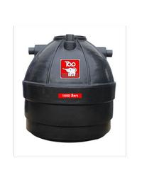 นิว ท็อป เวิลด์ ถังบ้ำบัดน้ำเสีย 1600 ลิตร TCT-1600 L ดำ