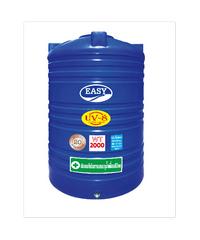 EASY ถังเก็บน้ำบนดิน ความจุ 2000 ลิตร - สีน้ำเงิน