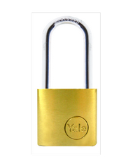 YALE กุญแจคล้องห่วงคล้องเหล็กยาว 30 มม. YE1/30/147/1 ทองเหลือง