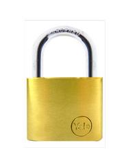 YALE กุญแจคล้อง ห่วงคล้องเหล็ก ขนาด  60 มม. YE1/60/132/1 ทองเหลือง