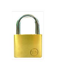 YALE กุญแจคล้องสายยู ห่วงสั้น ขนาด 50 มม. Y117D/50/127/1 ทองเหลือง