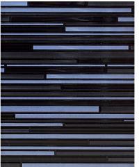 Sosuco 8x10 กระเบื้องบุผนัง-เชื่อมเงิน A.  ผิวมัน  (GlOSSY) สีดำ
