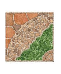 Sosuco กระเบื้องปูพื้นหน้าหยาบ-16x16 ร็อคเมนทา-บราวน์ (ดิจิตอล)A. ผิวหยาบ  (MATT) น้ำตาล