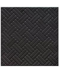 Sosuco กระเบื้องปูพื้นหน้าหยาบ-12x12 พื้นเหล็กศิลป์ A. - สีดำ