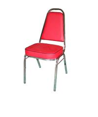 SBL เก้าอี้จัดเลี้ยง  เก้าอี้ CM-001S สีแดง แดง