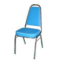 SBL เก้าอี้จัดเลี้ยง หุ้มหนัง CM-001S-714P สีฟ้า