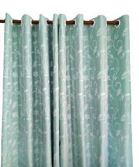 BALEENA ผ้าม่านหน้าต่าง  (140x150ซม.) ZFB 22-12 สีฟ้าอ่อน