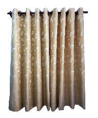 BALEENA ผ้าม่านประตู  (140x220ซม.) ZFB 22-3  สีทอง