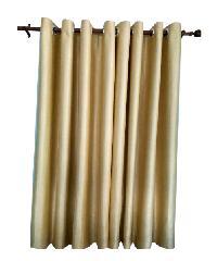 BALEENA ผ้าม่านประตู กรองแสงลายเรียบ (150x250 ซม.) - สีเขียว-เหลือง