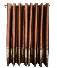 BALEENA ผ้าม่านหน้าต่าง  (150x160ซม.) CLASSIC สีมังคุด