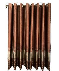 BALEENA ผ้าม่านประตู(150x250ซม.)  CLASSIC สีมังคุด
