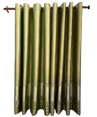 BALEENA ผ้าม่านประตู  (150x250ซม.) CLASSIC สีเขียว