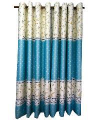 BALEENA ผ้าม่านหน้าต่าง  (150x160ซม.) 882-2 สีฟ้าอ่อน