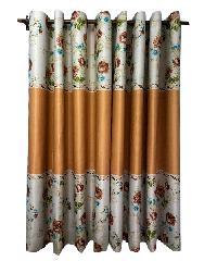 BALEENA ผ้าม่านหน้าต่าง (150x160ซม.) 884-4 สีส้มอ่อน