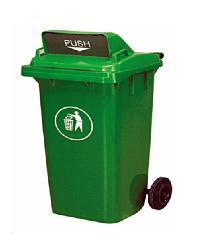 ICLEAN ถังขยะฝาสวิง 120 ลิตร XDL-120A-3G 120 L สีเขียว