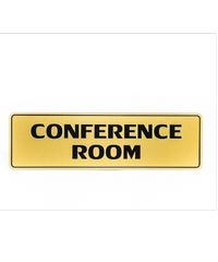 Cityart nameplate ป้าย CONFERENCE ROOM SGB9101 ทอง
