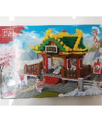 Sanook&Toys บล๊อกตัวต่อชุดใหญ่  6609