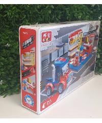 Sanook&Toys ของเล่นเด็ก ชุด Vehicle maintenance room  8635