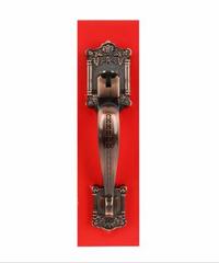SOLEX มือจับเหล็ก 6680AC  สีทองแดง