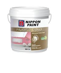 NIPPON สีภายใน  เบส A ขนาด 1 แกลลอน Hybrid Gold   ขาว