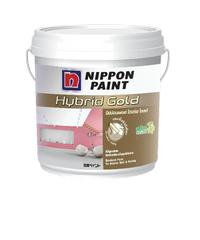NIPPON สีภายใน  เบส B 2.5กล. Hybrid Gold ขาว