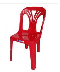 FREEZETO เก้าอี้พนักพิงหยก FT-220/A สีแดง
