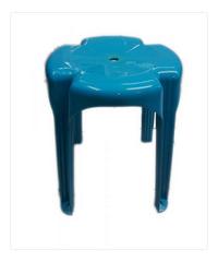 FREEZETO เก้าอี้บางกอก 4 ขา FT-251 สีฟ้า