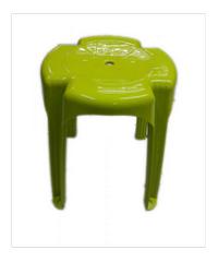 FREEZETO เก้าอี้บางกอก 4 ขา FT-251 สีเขียว