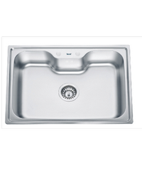 TECNOGAS อ่างล้างจาน 1หลุม  Sink TNP 10080 EPS แสตนเลส