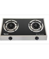 TECNOGAS เตาแก๊สตั้งโต๊ะ 2 หัวแก๊ส TNS 7139 SB Turbo สีดำ