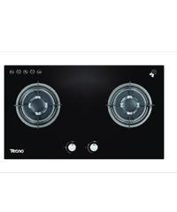 TECNOGAS เตาแก๊สตั้งโต๊ะ 2 หัวแก๊ส TNS HB 2073 GB สีดำ