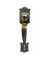 YALE มือจับประตู มือจับหลอก DM-6680AC ทองแดงรมดำ