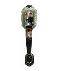 YALE มือจับประตูหลอก DM6790-AC ทองแดงรมดำ
