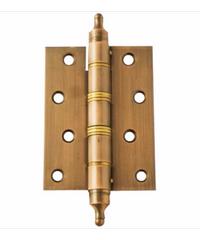 YALE บานพับประตู แกนเล็กหัวตัด ขนาด 4x3  นิ้ว HI-AC43SS ทองแดงรมดำ