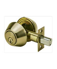 YALE กุญแจเสริมความปลอดภัย DB-V8121US5 ทองเหลืองรมดำ