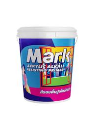 CAPTAIN สีรองพื้นปูนใหม่  สีรองพื้นปูนใหม่ MARK 1000 ถัง ขาว