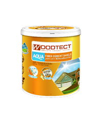 WOODTECT สีไม้ฝา ไฟเบอร์ซีเมนต์ FO-206 งา
