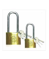 GOLDSEAL กุญแจทองเหลืองคอยาว             - สีทองเหลือง