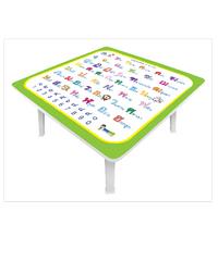 FASTTECH โต๊ะญี่ปุ่น TB6060-ABC-3L02 ขาว-เขียว