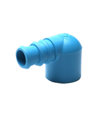 Super Products ข้องอพีวีซี-พีอี 3/4 นิ้ว x 25 มม. (5 ตัว / แพ็ค) EM-PVC  ฟ้า