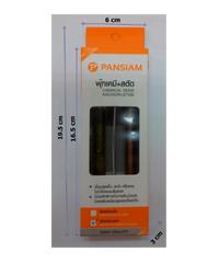Pansiam พุ๊กเคมีชนิดตอก-สตัด CA-12-SAB-12160Y เหลือง