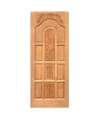WINDOOR ประตูสลักลาย LA 01 เหลืองอมขาว