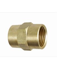 VEGARR ข้อต่อ ม.ม ทองเหลือง 1/2 นิ้ว G454 ทองเหลือง