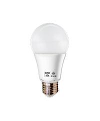 หลอด LED ECO SERIES 14W  E27 แสงนวล HLLE27014W เหลือง
