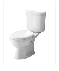 MOGEN สุขภัณฑ์สองชิ้น Toilets close MT43  ขาว