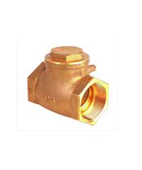 ANA เช็ควาล์วสวิง 2 ก5E111-0-050-000-5-B ทองเหลือง