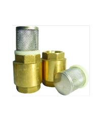 ANA ฟุตวาล์วสปริง (รุ่นถอดได้) 1.1/2 ก5F116-0-040-000-5-B ทองเหลือง