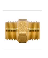 DUSS อุปกรณ์นิปเปิ้ลทองเหลือง 1/2  M5 M5 ทองเหลือง