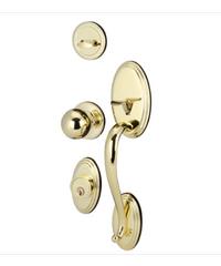 HAFELE มือจับประตูทางเข้า  PVD 489.94.807 ทองเหลืองเงา